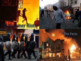 UK Summer Riots