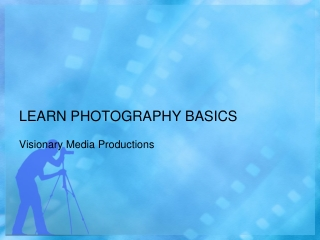 Learn Basic Photography