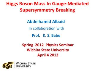 Higgs Boson Mass In Gauge-Mediated  Supersymmetry Breaking