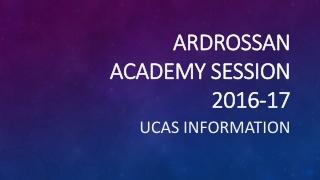 ucas presentation