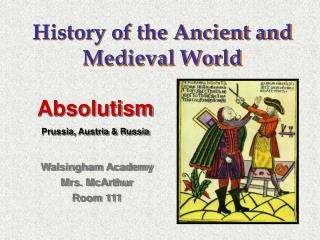 History of the Ancient and Medieval World