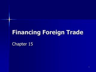 financing foreign trade