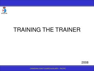 training the trainer