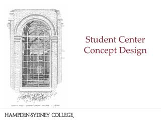 Student Center Concept Design