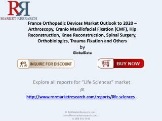 France Orthopedic Devices  Market : 2020 Healthcare Analysis