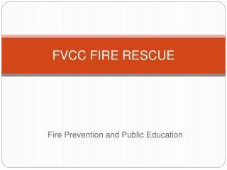 FVCC FIRE RESCUE
