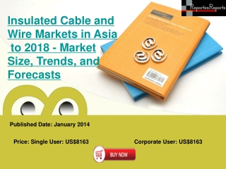 Asia Insulated Cable and Wire Markets Growth in terms of Mar