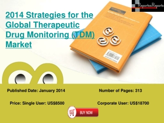 Global Therapeutic Drug Monitoring Market (TDM) strategies f