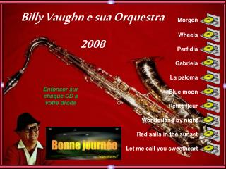 Billy Vaughn e sua Orquestra 2008
