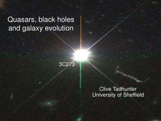 Quasars, black holes and galaxy evolution