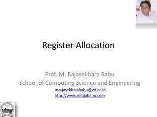 Register Allocation
