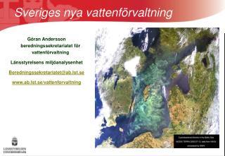 Sveriges nya vattenf rvaltning