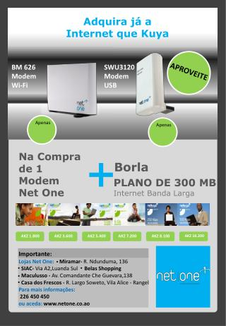 PLANO DE 300 MB Internet Banda Larga