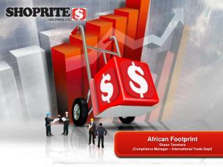 African Footprint Shaun Temmers Compliance Manager   International Trade Dept