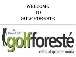 paramount golf foreste