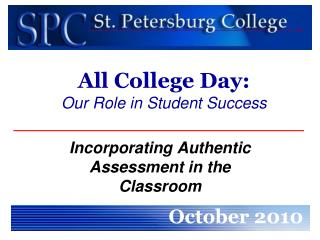 All College Day: Our Role in Student Success