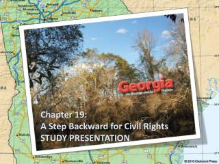 Chapter 19: A Step Backward for Civil Rights STUDY PRESENTATION