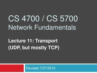 CS 4700