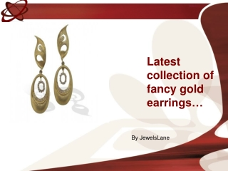 Buy Gold Earrings for Your Beloved