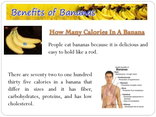 How Many Calories Is A Banana
