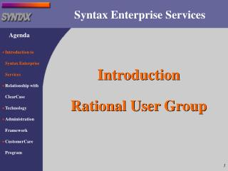 Syntax Enterprise Services