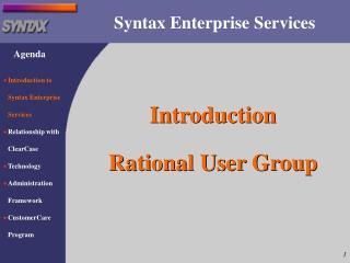 Syntax Enterprise Services