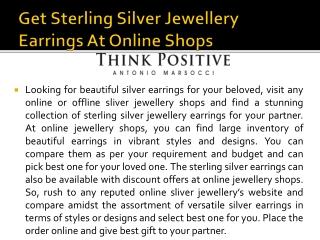 925 Sterling Silver Jewellery Rings