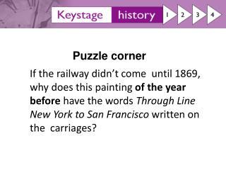 Puzzle corner