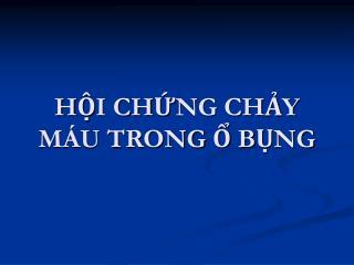 HI CHNG CHY M U TRONG  BNG