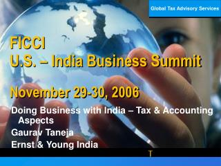 FICCI U.S.   India Business Summit