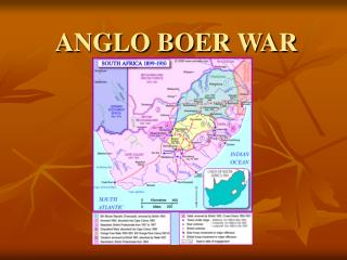 ANGLO BOER WAR
