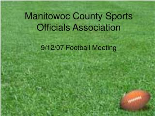 Manitowoc County Sports Officials Association