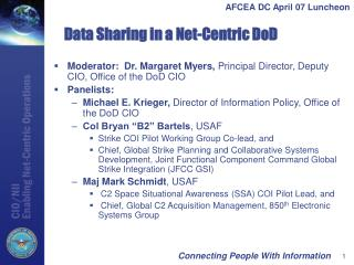 Data Sharing in a Net-Centric DoD