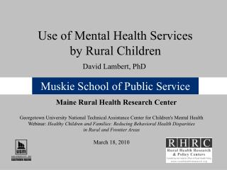 Muskie School of Public Service