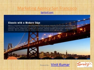 Marketing Company San Francisco