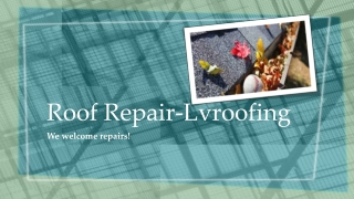 Roof Repair - Lvroofing