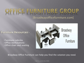 Buy Good Quality Office Furniture' only at Broadwayofficefur