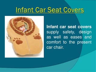 Custom Infant Car Seat Covers