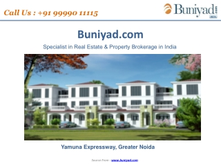 Udaan Personal Floors at Yamuna Expressway by Jaypee Group