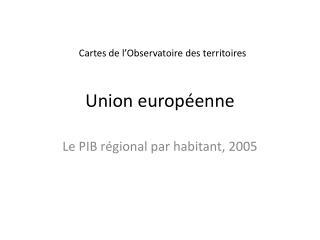 Union europ enne