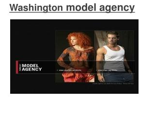 Washington model agency