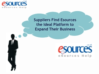 Suppliers Find Esources the Ideal Platform to Expand Their B