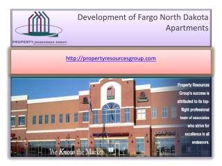 Develop Fargo North Dakota Apartments