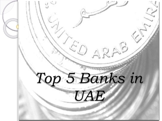 Top five banks in UAE