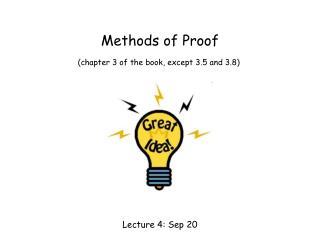 Methods of Proof