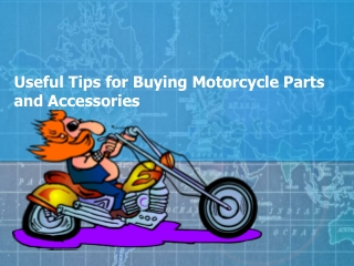 Useful Tips for Buying Motorcycle Parts and Accessories