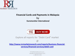 Analysis for Financial Cards and Payments Industry in Malays