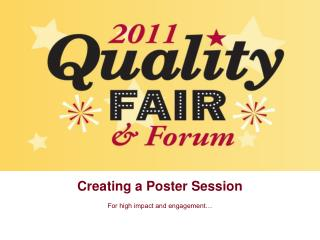 Creating a Poster Session