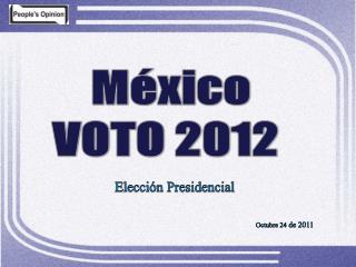 M xico VOTO 2012