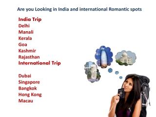 5 Romantic Getaways in India